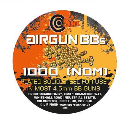 1000 smk 4.5mm steel bbs