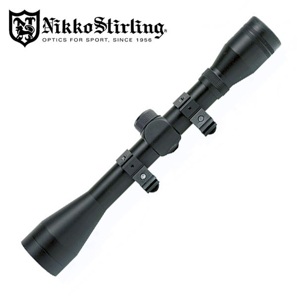"nikko stirling Mountmaster 4x40 with 3/8"" mounts"