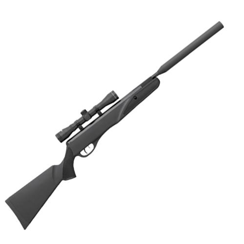 remington tyrant with 4x32 scope and shrouded barrel