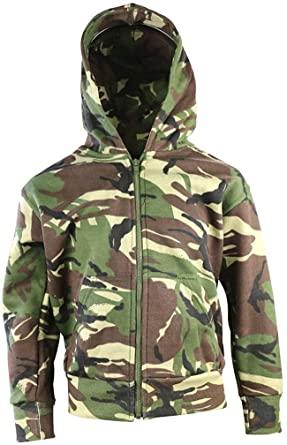 Kombat UK Adult Hoodie DPM Hoody New Full Zip Fleece Lining Men Women