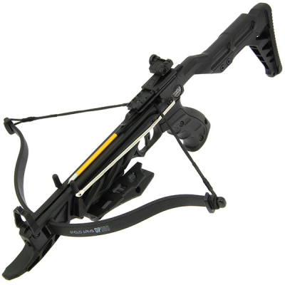 Anglo Arms OP-360 Crossbow - 80lb Self Cocking Extended Stock Aluminium Crossbow