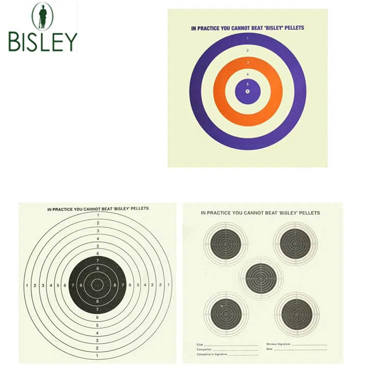 Pack of 100 Paper Targets