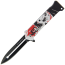 Joker 'Why So Serious' Style Lock Knife