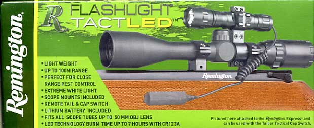 Remington TacLED scope torch