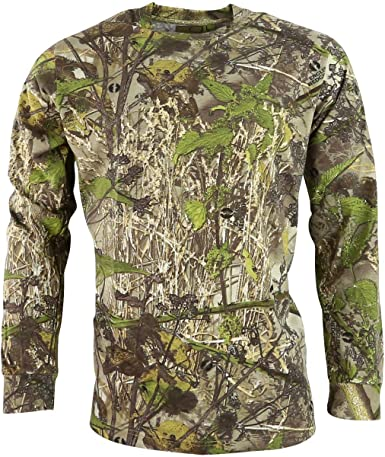 long sleeve and all over English Hedgerow camouflage t-shirt