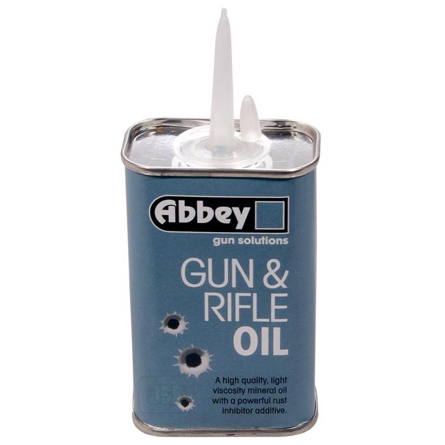 abbey gun and rifle oil 125ml