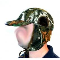 Q-Dos Camo Artic Hat with LED Lights