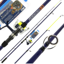 Angling Pursuits Beachcaster Combo - Beachcaster Rod, Reel and Accessory Set