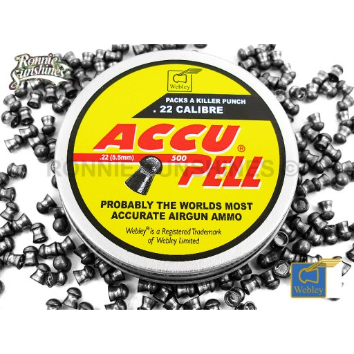 accupell 22cal domed