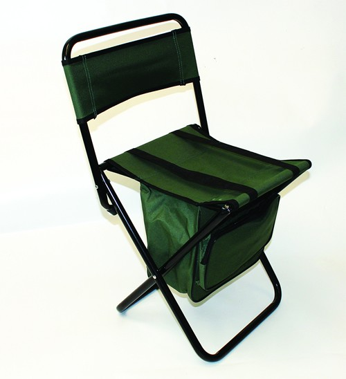 Fold Flat Chair With Bag Green