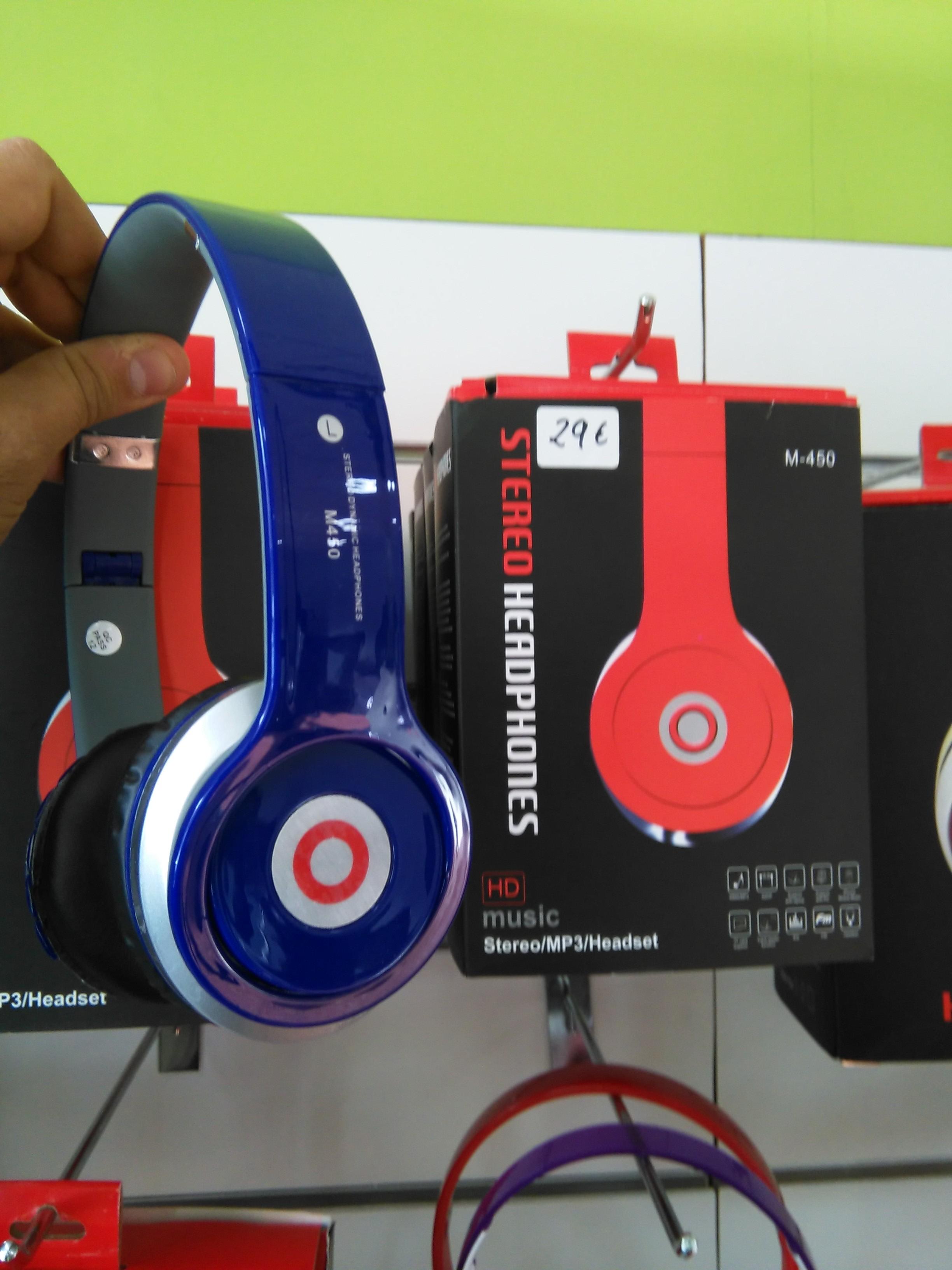 Auricular Bluetooth, sd y radio