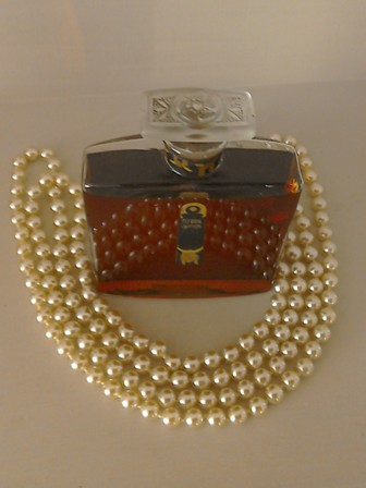 Art Deco Elfrida Parfum Bottle complete with contents