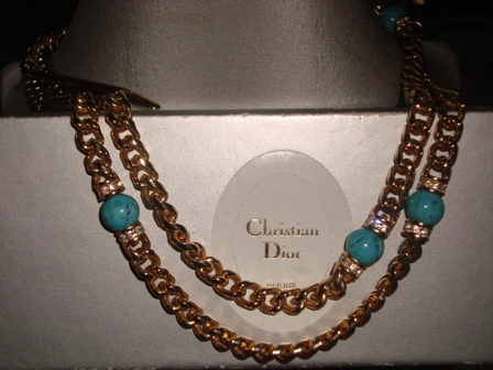 Designer Grosse for Christian Dior necklace