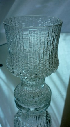Iittala Ultima Thule 9.5cms high glass