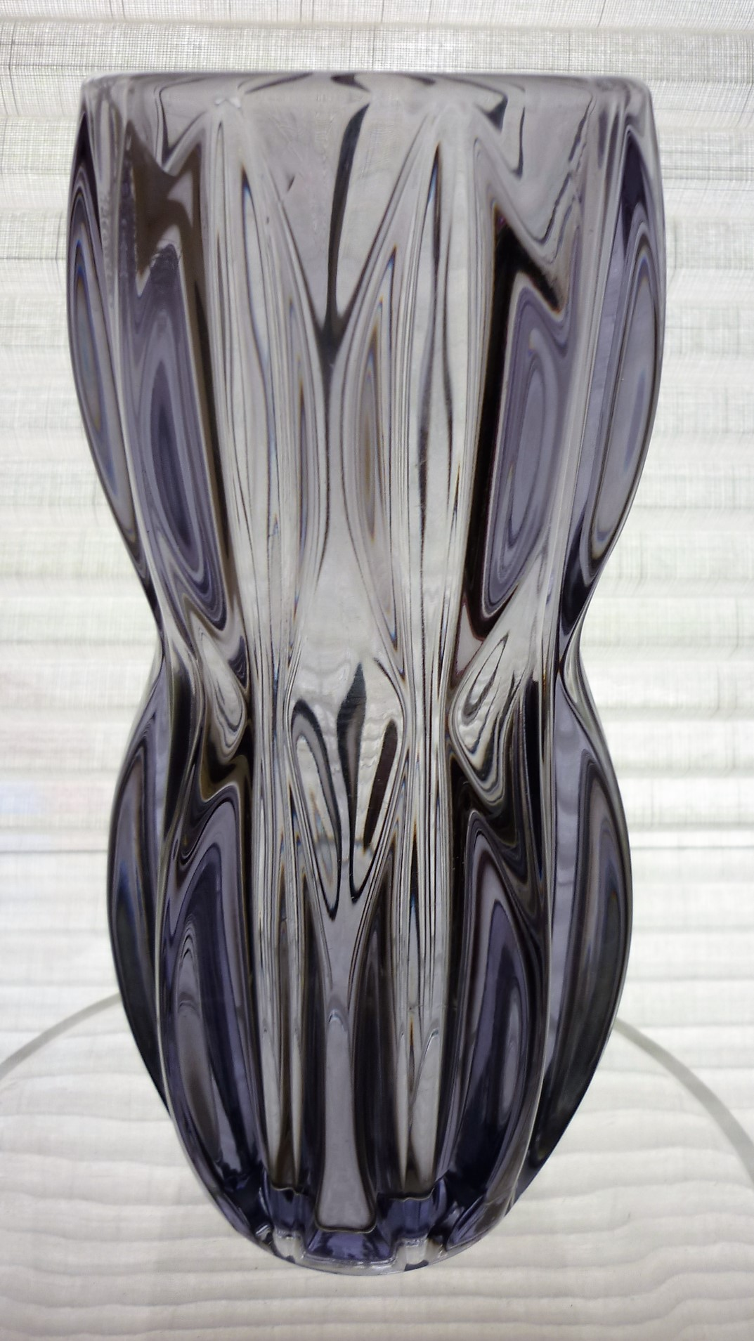 Sklo Union iconic Ypsilon vase. Designed by Jan Schmidt in the 1960s