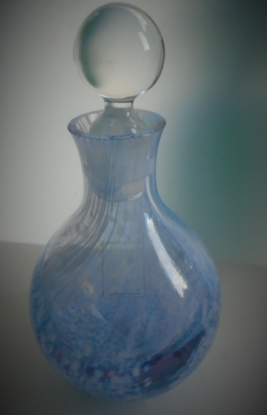 Large pretty vintage Caithness Glass Perfume bottle.