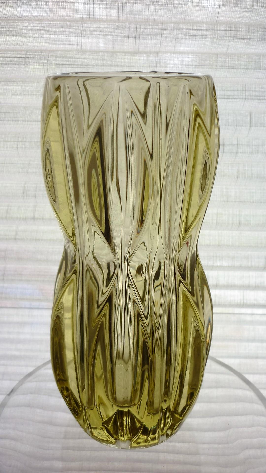 Sklo Union iconic Ypsilon vase. Designed by Jan Schmidt in the 1960s