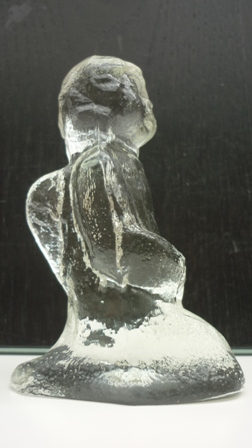 Pukeberg Glass Angel Figure