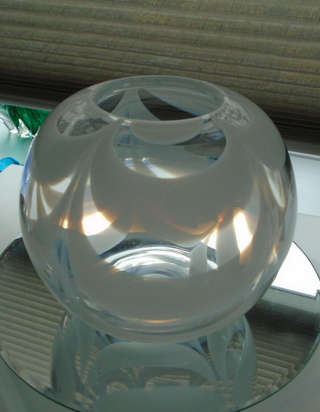 Stunning Empoli Glass Vase