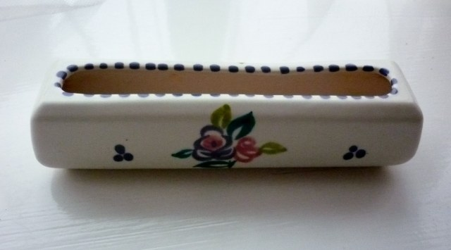 Poole Traditional Sprig Pattern Posy Trough