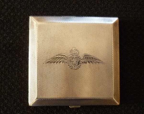 RAF 1940 Silver Powder Compact