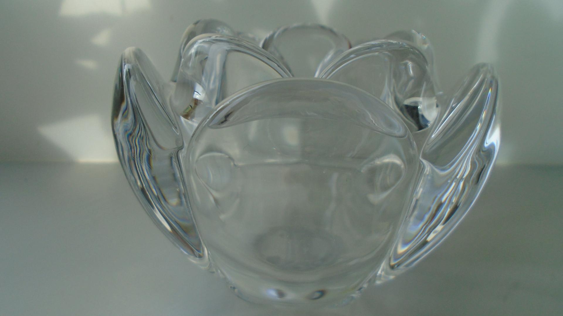 Crystal Glass HOLMEGAARD LOTUS VOTIVE designed by Torben Jørgensen