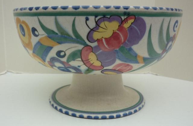 A Carter, Stabler, Adams pedestal bowl