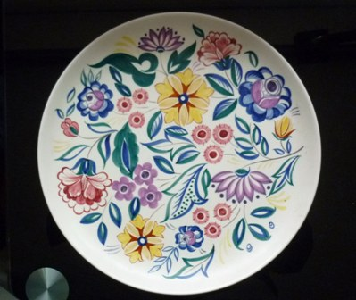 Large 31cms diameter  Poole Platter