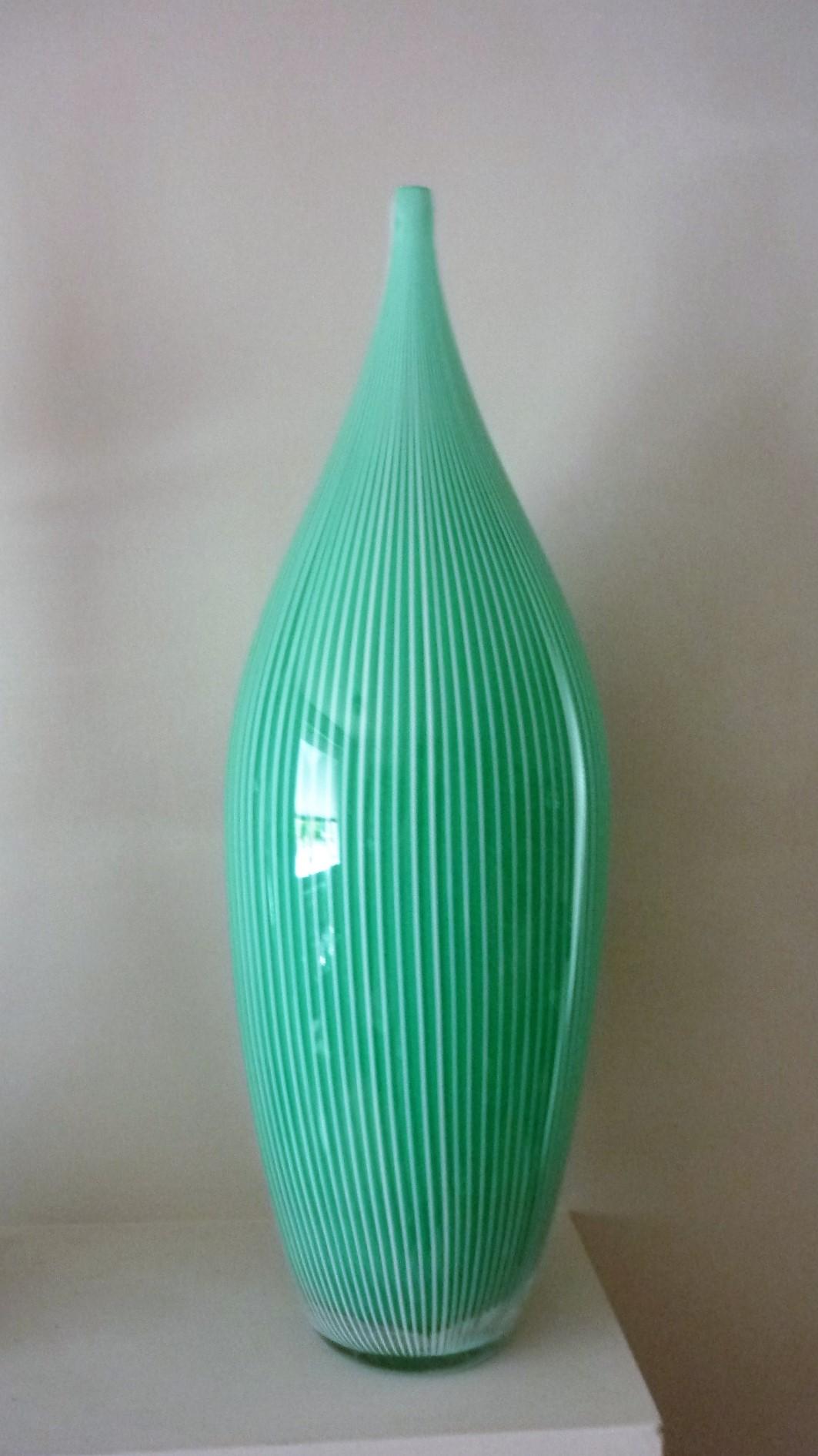A massive Murano Alberto Dona tear drop Vase.