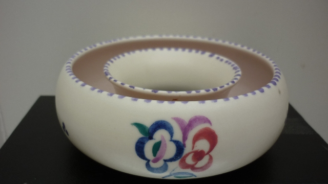 A Vintage 50s Poole Pottery Posy Ring