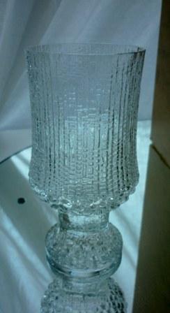 "Vintage Iittala ""Ultima Thule"" Water Goblet."