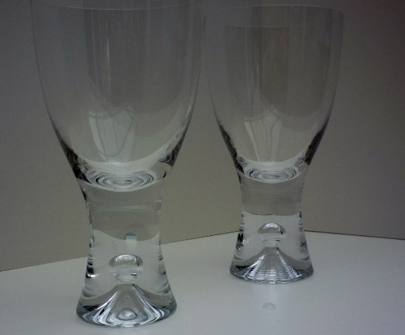 Pair of Iittala Tapio Red Wine Glasses