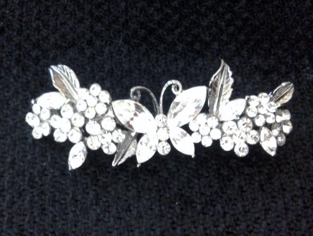 Butler&Wilson Butterfly Diamante Brooch