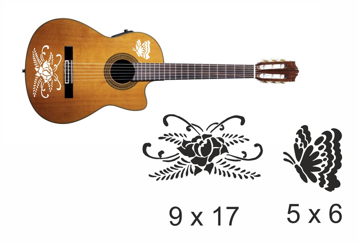 Gitarrenaufkleber 11