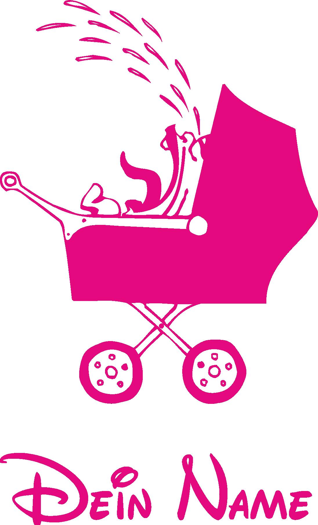 Babyaufkleber fürs Auto