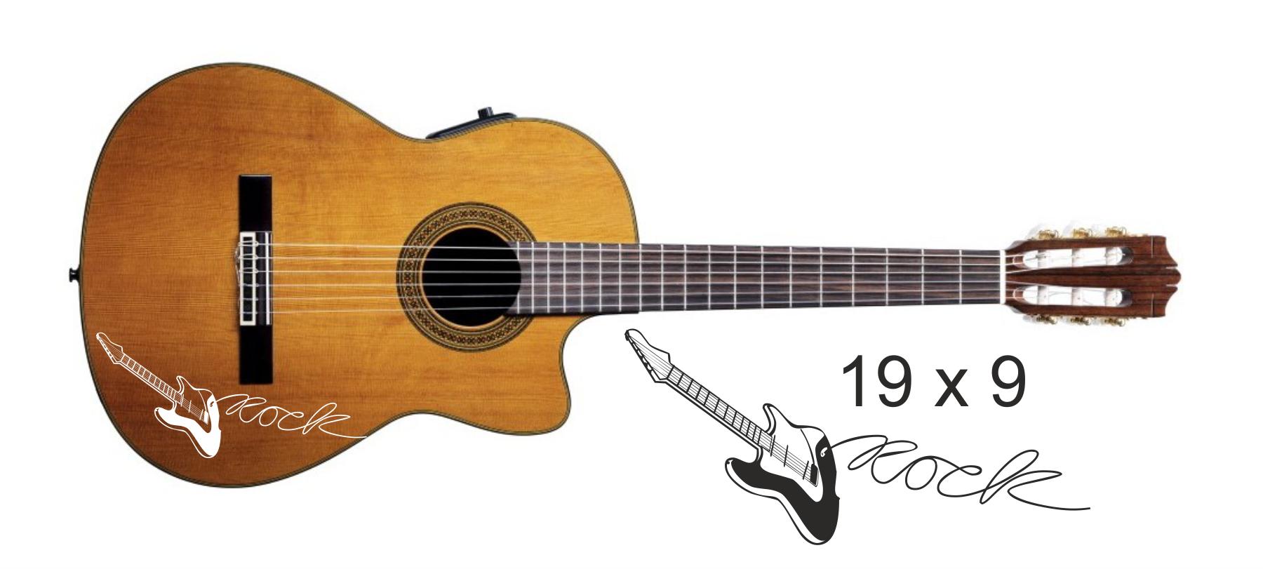 Gitarrenaufkleber 08
