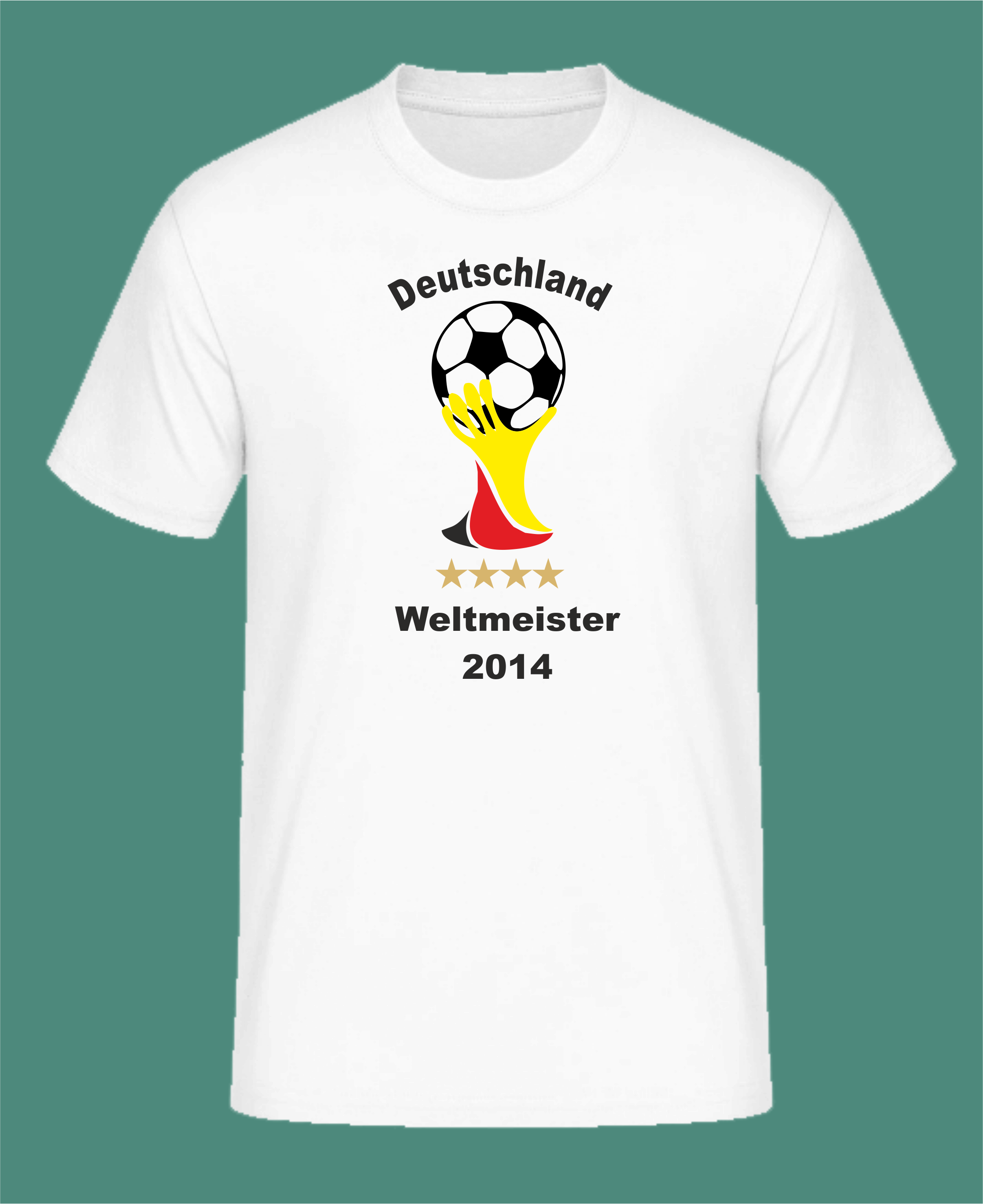 Fan Shirt Deutschland 3