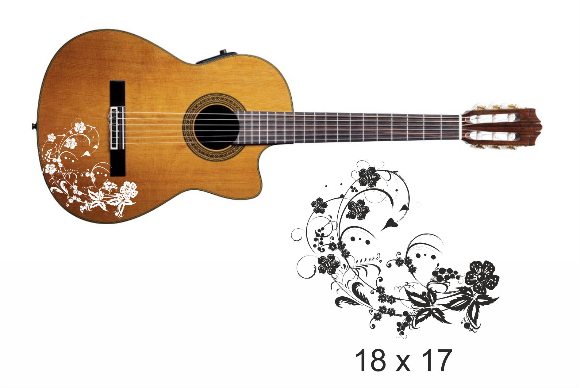 Gitarrenaufkleber 07
