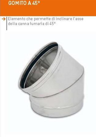GOMITO A 45°