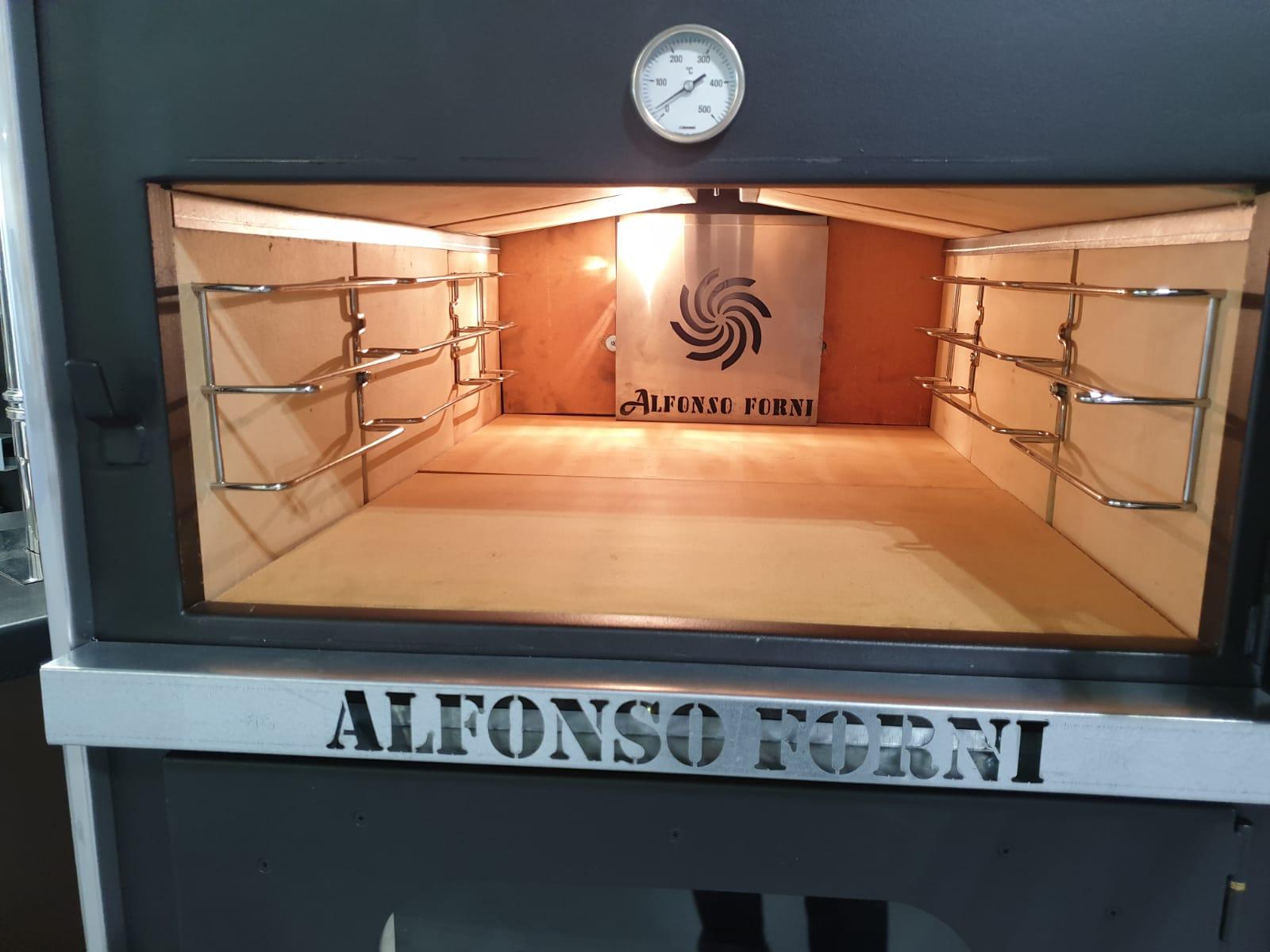 Forno a legna ventilato LUXOR V2 Plus con piano cottura unico