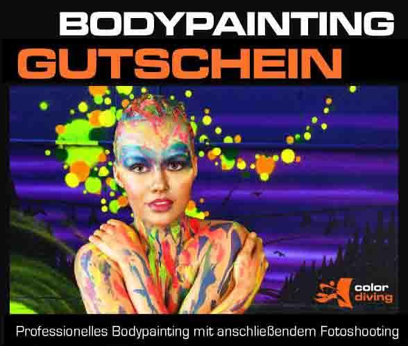 Gutschein Face Painting mit Fotoshooting