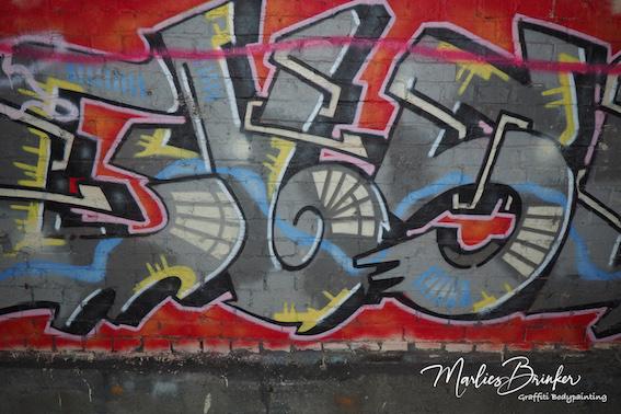 Grafitti Bodypainting
