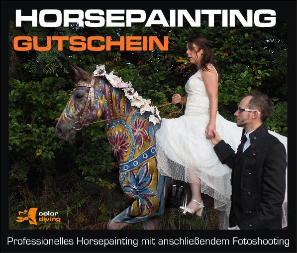 Gutschein Horse Painting mit Fotoshooting