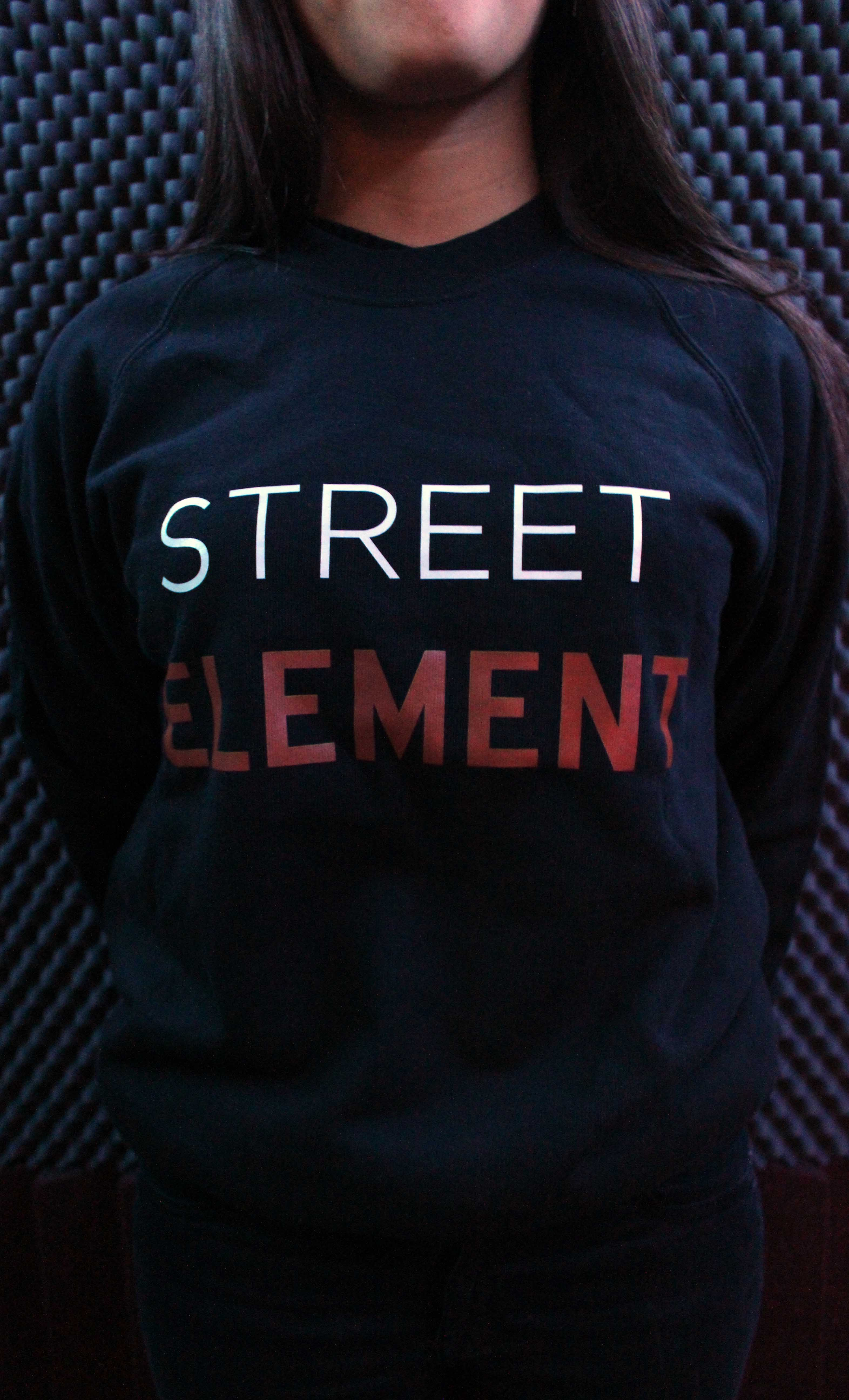 Sweat noir Street Element