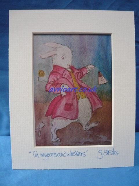 Art Card Mounted for framing