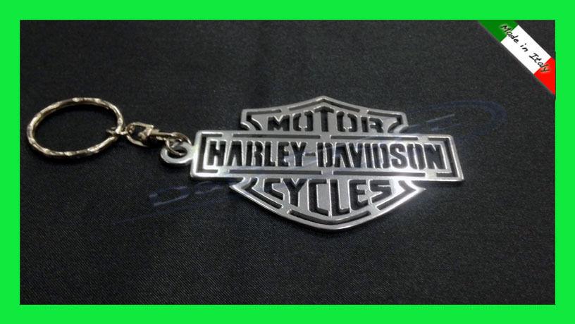 Portachiavi Moto HARLEY DAVIDSON in ACCIAIO INOX