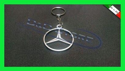 Portachiavi Auto MERCEDES-BENZ in ACCIAIO INOX
