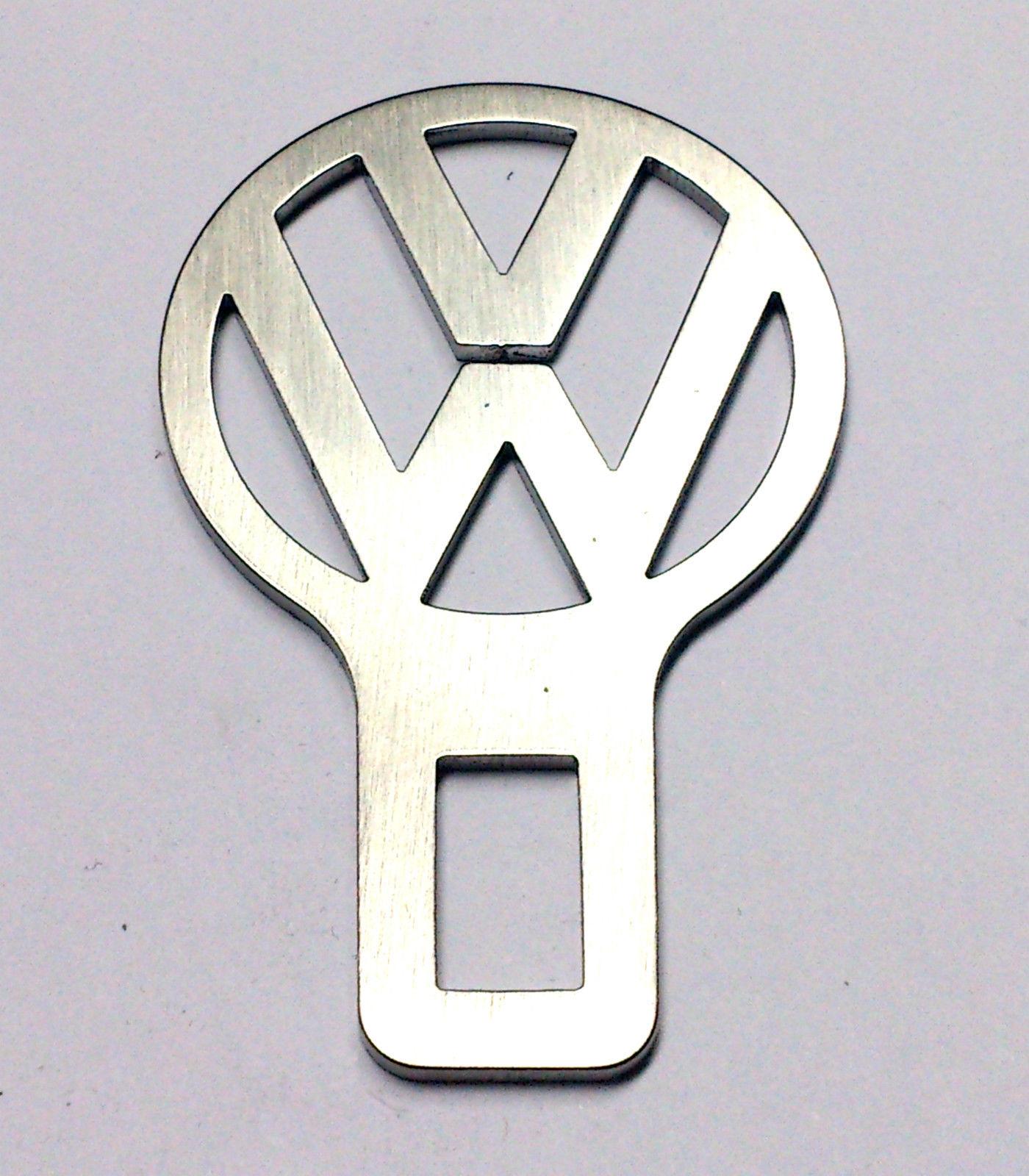BIP STOP Cinture di Sicurezza Volkswagen in ACCIAIO INOX