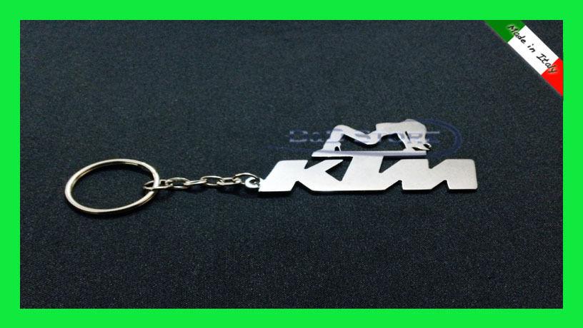 Portachiavi Moto KTM Girls in ACCIAIO INOX