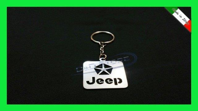 Portachiavi Auto JEEP in ACCIAIO INOX